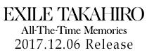 TAKAHIRO「All-The-Time Memories」
